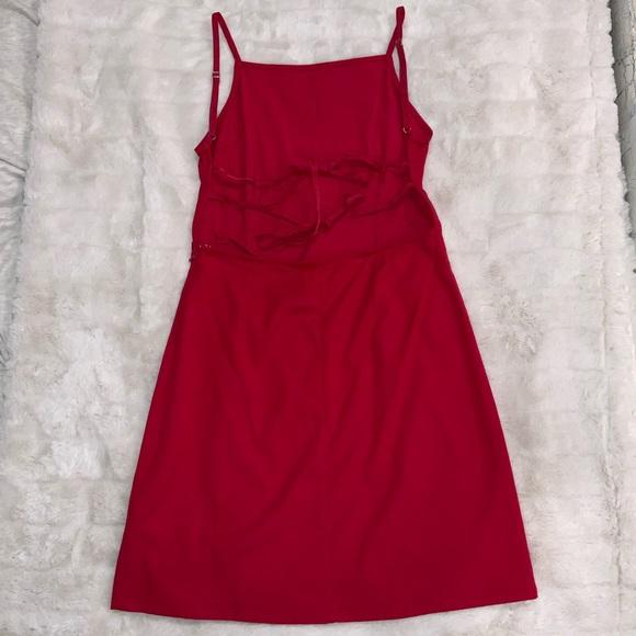UO Backless Mini Dress